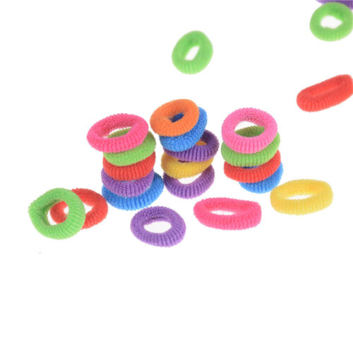 Candy Color Little Girl Elastic Hair Bands Ring Rope Headwear Hair AccessoriesSL