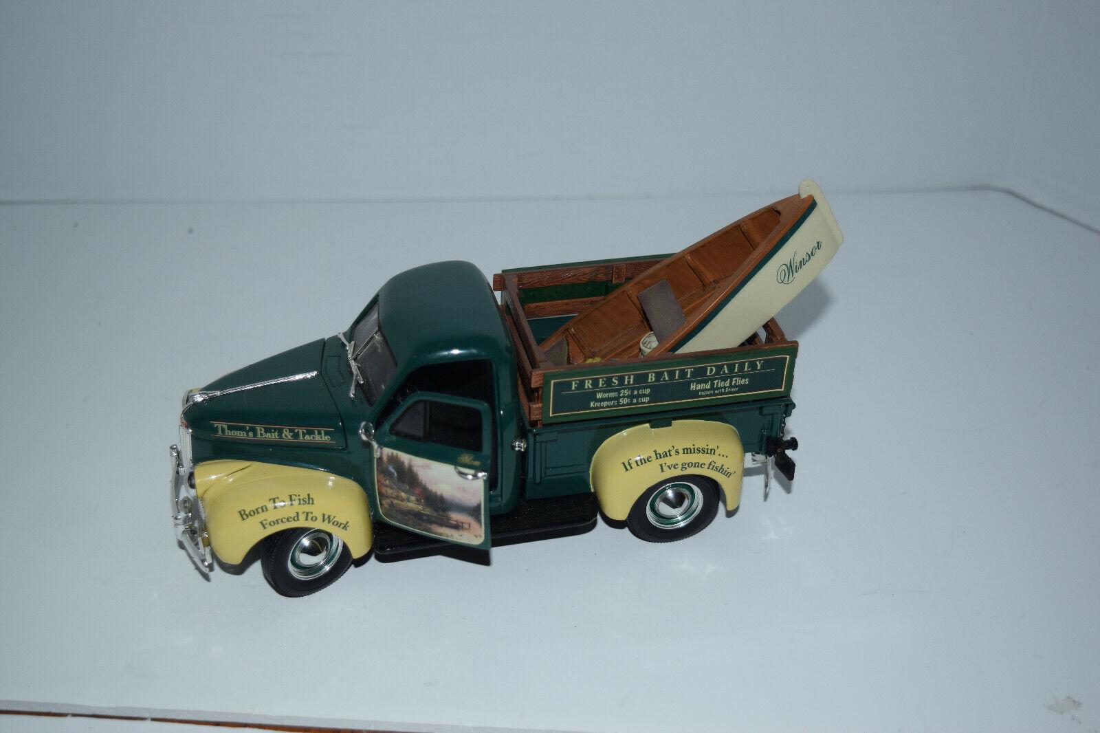 Raro Thomas Kinkade 1947 Studebaker Camioneta Rústico retiros Ertl Colección