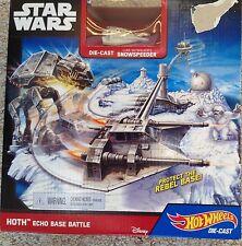 Hot Wheels Star Wars Starship Hoth Echo Base Battle Play Set
