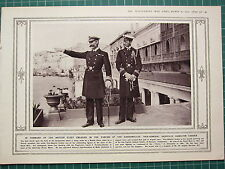 1915 WWI WW1 PRINT ~ VICE-ADMIRAL SACKVILLE HAMILTON CARDEN BRITISH FLEET