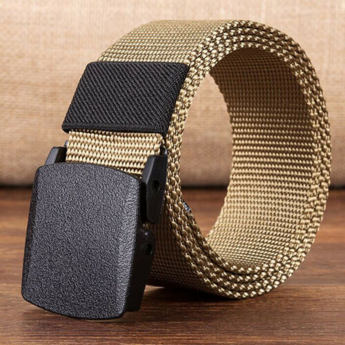 Hot Outdoor Sports Military Tactical Nylon Waistband Canvas Web Belt Dazzling
