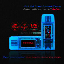 USB 3.0 24 in 1 Voltage Current Power Meter Power-off Protection Monitor Tester