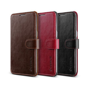 timeless design 76ecf 66d41 Details about Samsung Galaxy S7 Edge Leather Diary Wallet Case Cell Mobile  Phone Cover Verus