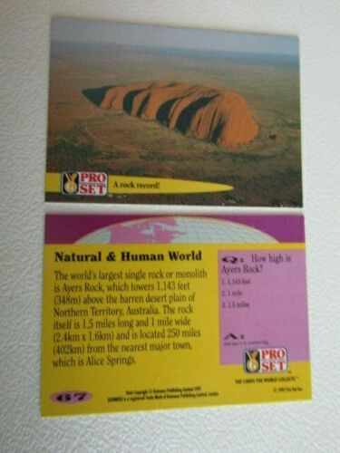 eb2 Pro Set  1992 Guinness Book of Records Trade Cards Card Variants