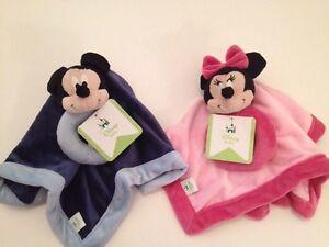 Disney Mickey Minnie Mouse Baby Boys Girls Security Lovey