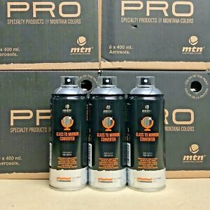 3x-Mtn-Pro-Glass-To-Mirror-Convertor-Spray-by-Montana-Colors-400ml