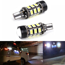 2*Xenon White T15 W16W 5630 COB 15-LED No Error Canbus Backup Reverse Light Bulb