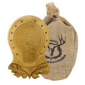 Hunting-Trophy-Engraving-Plate-Carved-Wooden-Board-Shield-Holder-Medals-DT-28