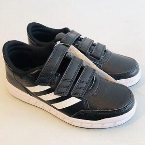 reputable site 6121f 521ea Image is loading Adidas-AltaSport-CF-K-Junior-Trainers-School-Shoes-