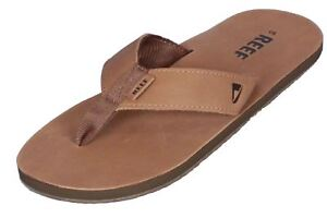 735701a21bcc Image is loading Reef-Mens-Premium-Leather-Sandal-Leather-Smoothy