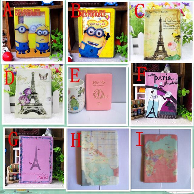Fashion cheap passport cover passport holder card package travel accessories