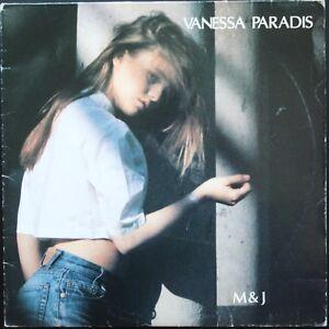 VANESSA-PARADIS-M-amp-J-MARILYN-ET-JOHN-33T-LP-POLYDOR-835-949-Vinyle-parfait-etat