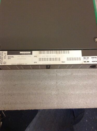 MODICON AS-B810-008 ISOLATED OUTPUT MODULE ASB810008