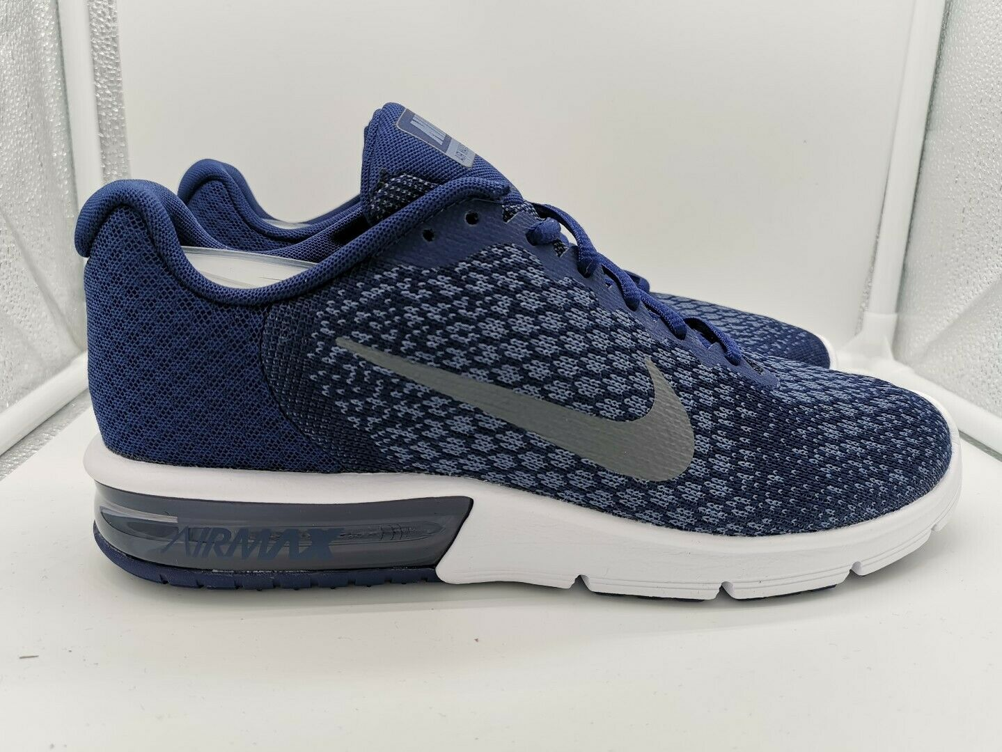 Nike Air Max Sequent 2 Binary blueee Dark Grey 852461-406