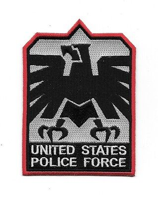 "Escape From New York Movie U.S Police Force Logo 4.5/"" Embroidered Patch"