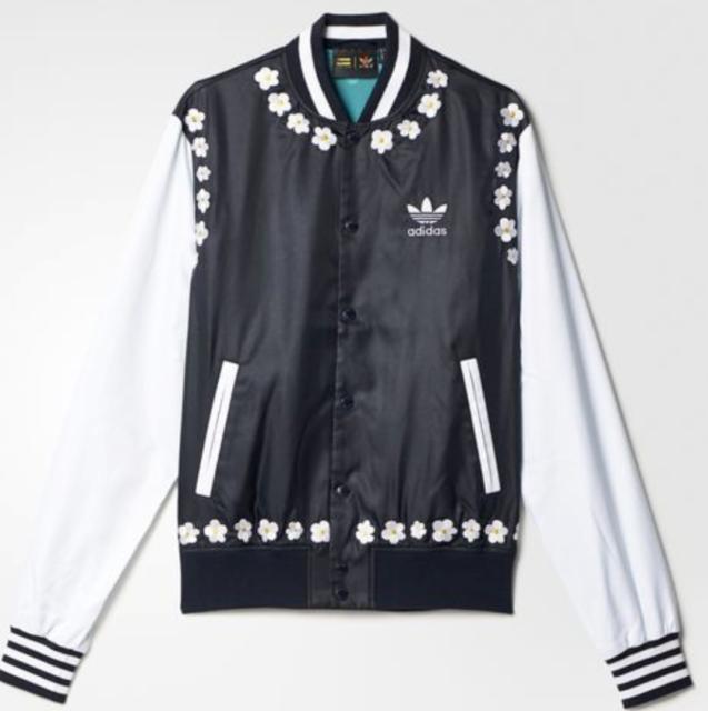 504ebcc35 adidas Pharrell Williams PW Daisy Varsity Men s Jacket Ao2998 L for ...
