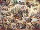 Ulster impressions Military print British Army 20x10 inch Joan Wanklyn Militaria