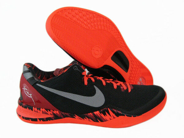 cheaper d631b b02cc Nike Kobe 8 System Philippines Black Silver Red 613959-002 Size 15 for sale  online   eBay
