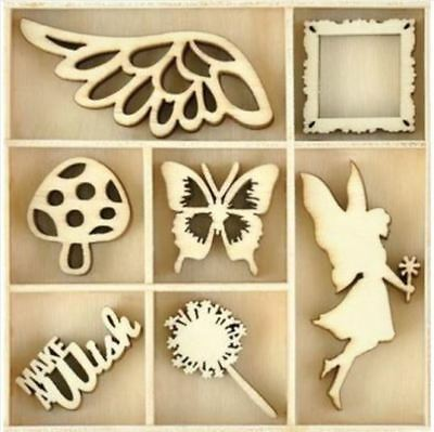 Kaisercraft Wooden Garden Flourish Pack FL600