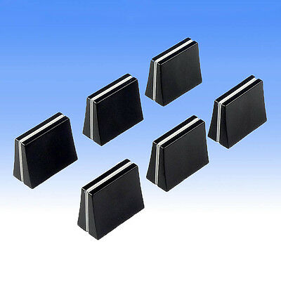 6 x Mixer Slider Fader Knobs - Fits Pioneer DJM 300 500 600 3000