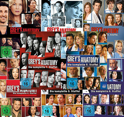 Grey's Anatomy - Die komplette 1. - 8. Staffel (Greys)               | DVD | 273