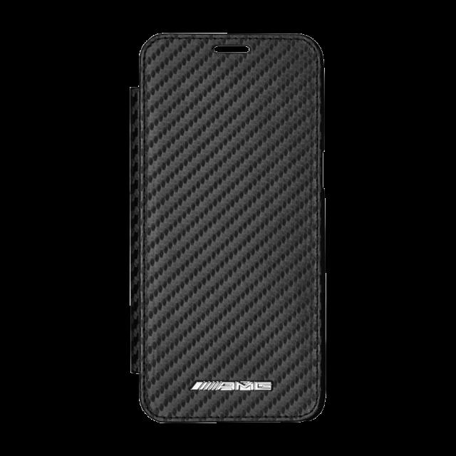 Mercedes Benz AMG Originale a Libro Case Samsung Galaxy S8 Carbonio