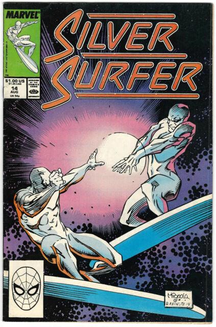 THE SILVER SURFER # 14 - Marvel 1988 (vg-fn)
