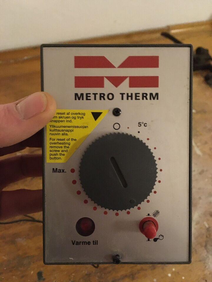 Varmtvandsbeholder reservedele, Metro