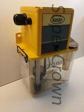 Chiba CNC Lube Pump 2L Tank for Industrial Machines w/ Pressure Relief 220V CE