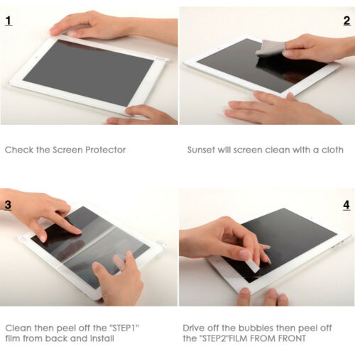 Apple iPad 2-3//6//9 Premium Clear LCD Screen Protector Cover Guard Shield Films