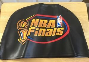 Nba-Finals-1998-Leather-Players-Chair-Cover-Chicago-Bulls-Utah-Jazz-Game-Used
