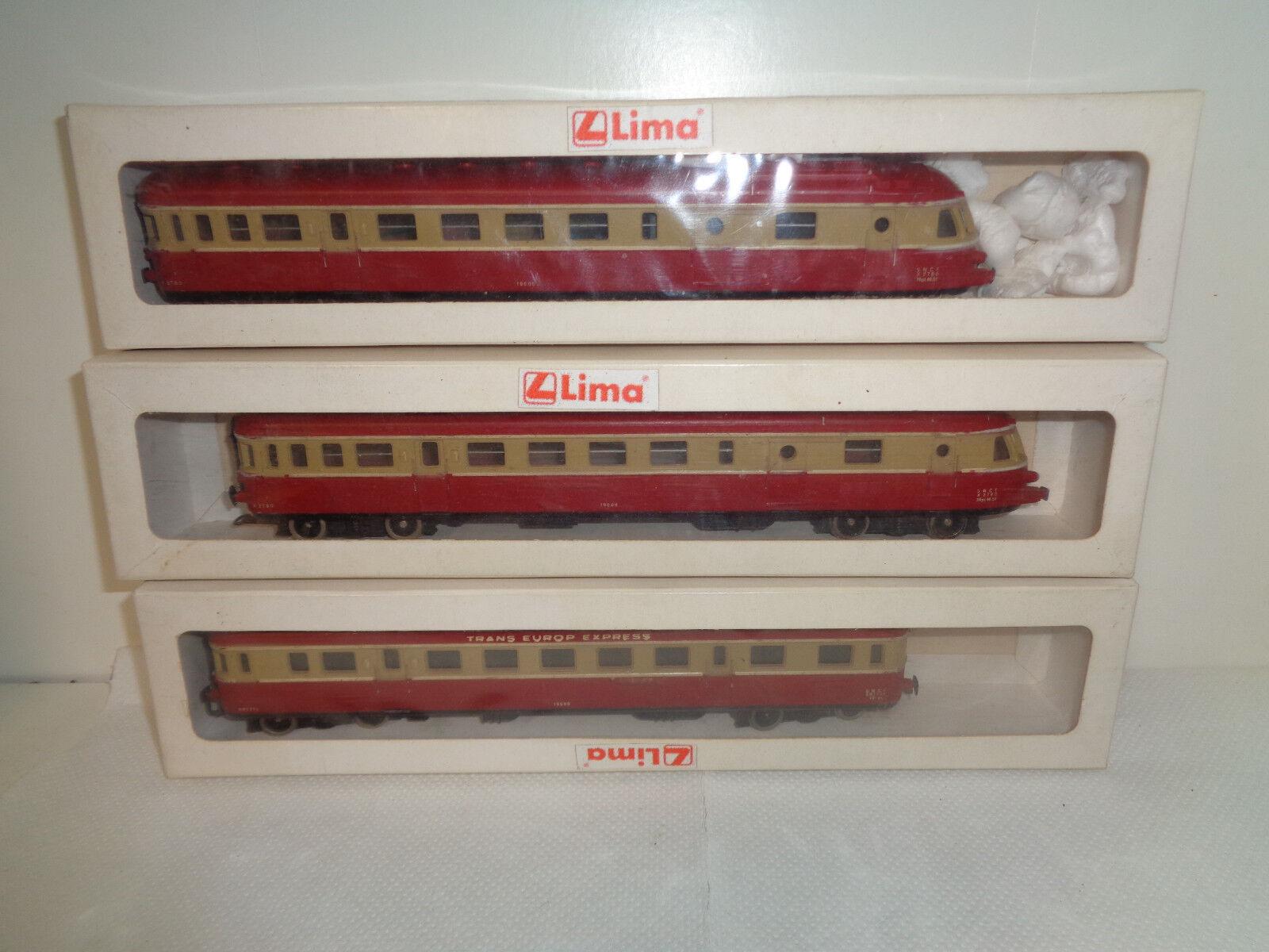 LIMA X 2780-X2780-SNCF-CONVOGLIO-19000-LOCOMOTIVA-1 87-SCALA H0---Z23