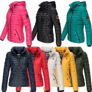 new product 38acd 98e2b Details zu Navahoo Premium Damen Jacke Steppjacke Frühling gesteppt  Übergangsjacke Riva NEU
