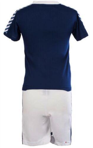 Children/'s Plain SCOTLAND Football Top Blu Navy LEONE RAMPANTE logo Taglia 4-5 anni