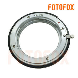 Details about Nikon-FD For Nikon F mount AI Lens to Canon old FD mount  adapter AE-1 F-1 camera