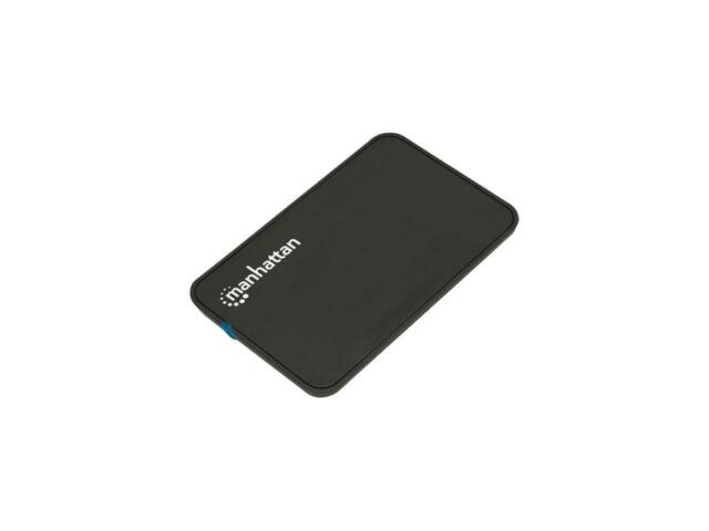 "MANHATTAN 130042 2.5"" Black SATA USB 2.0 External Drive Enclosure"
