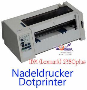 dot-Matrix Dot Matrix Printer Ibm-Lexmark 2380 New Band For Dos WIN95 98 NT