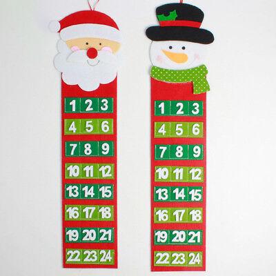 Calendario Conto Alla Rovescia.Eg Piacevole Natale Conto Alla Rovescia Calendario Numero