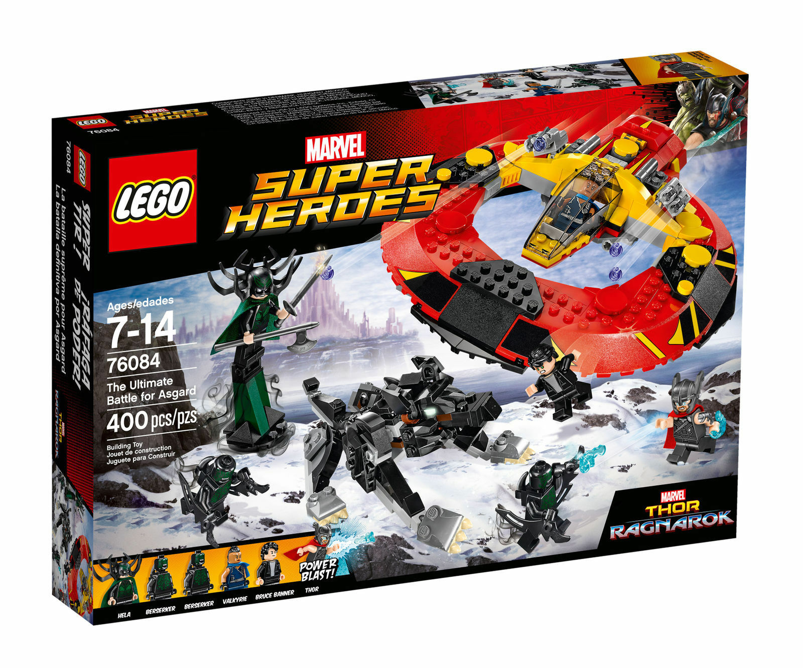 LEGO LEGO LEGO Super Heroes 76084  Thor The Ultimate Battle for Asgard - Brand New 45581b