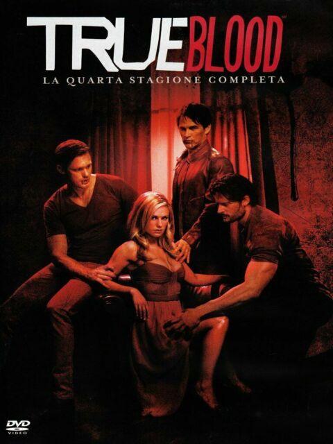 TRUE BLOOD - QUARTA STAGIONE COMPLETA - Season 4 - DVD nuovo sigillato [dv54]
