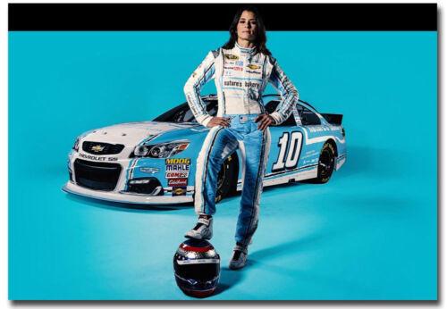 "Danica Patrick Racing Driver Nascar Fridge Magnet Size 3.5/"" x 2.5/"""