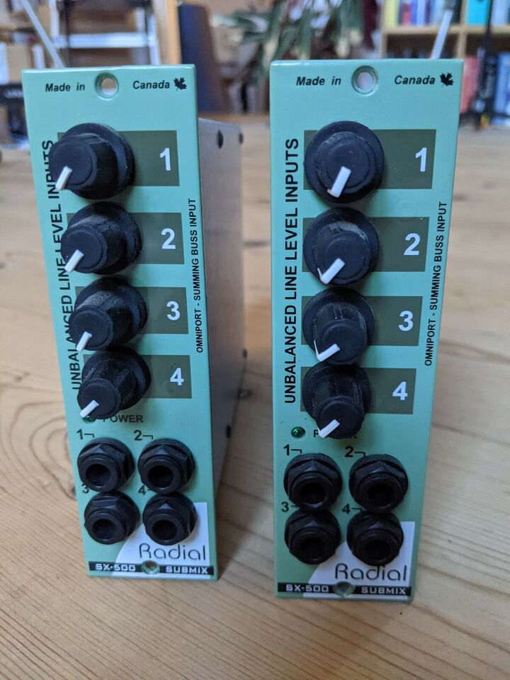 500 series module, Radial SX-500 SubMix