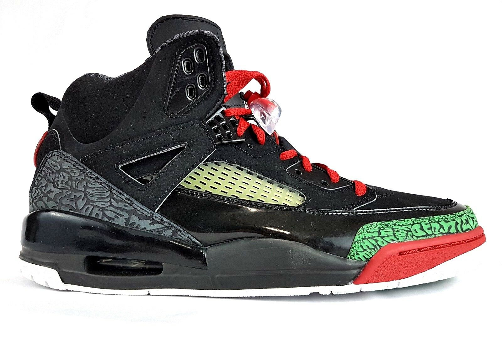 NIKE 07 AIR JORDAN SPIZIKE OG BLACK RED GREEN 11.5 DS I III IV V VI VIII XI XII