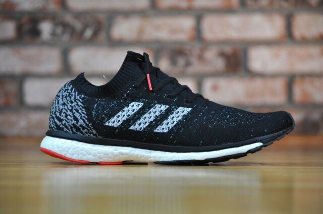 fashion styles best deals on lace up in Adidas Adizero Prime Boost LTD Running Shoes Black CP8922 Mens Size 10.5