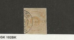 Luxembourg-Postage-Stamp-6-Used-1864-JFZ