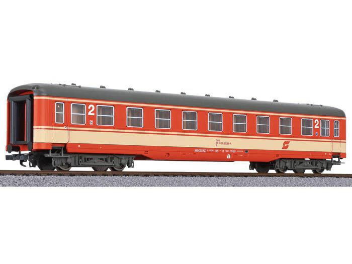Liliput l334589 vagoni grembiuli carrelli 2.kl. ÖBB h0