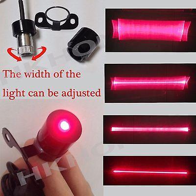 Car Laser Fog Warning Lamp Red Lights Driving Safety best Collision License line