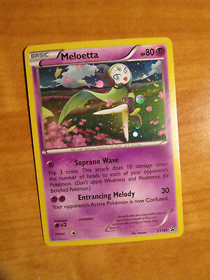 NM Pokemon MELOETTA Card BLACK STAR PROMO Set XY193 Magearna Mythical Collection