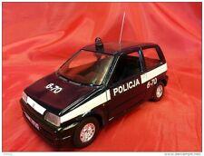 BURAGO 1:24 cod. 0154 - FIAT CINQUECENTO - POLICE - POLICJA POLONIA
