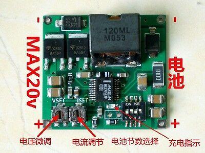 MAX745 4.2 4.35V 1-4 Packs Lithium Battery Charging Board adjust Voltage Current